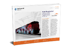 case study - from road to rail